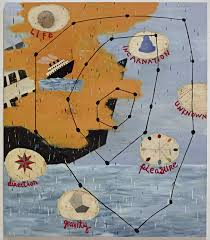 Star Panel Chart Squeak Carnwath Star Chart 2012 Available For Sale Artsy
