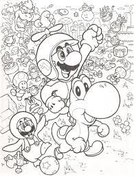 Coloring Pages Super Mario Bros Coloring Mario Super Smash Bros
