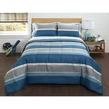 gray striped comforter 5 piece boys blue grey white striped comforter twin set gray dusty navy