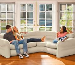 intex inflatable sectional sofa blowup furniture