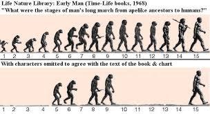 Evolution Of Man Chart Geology Engineering June 2012