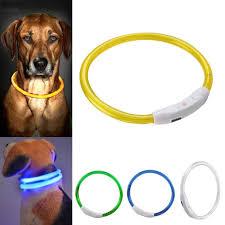 Blinking Lights For Dogs 5 23 Aud Safety Dog Led Collar Blinking Night Flashing