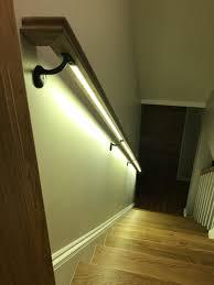 Led Handrail Lights Stairs Handrail Led Light Cj Woodwork Design