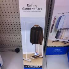 10 Garment Rack From Walmart As Pocket Chart Stand Pocket
