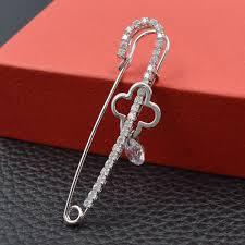 Click to Buy << <b>CINDY XIANG Zircon</b> Clover Pin Brooch Unisex ...