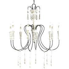 white iron chandelier white shabby chic chandelier shabby chic and iron chandelier a liked on featuring