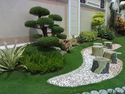 Small Picture Garden Design Ideas With Pebbles Garden ideas Gardens and