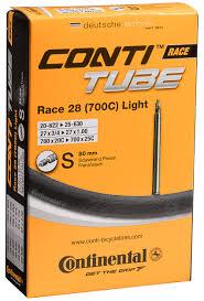 Presta Valve Lights Continental 700 X 18 25 Light Tube 80mm Presta Valve