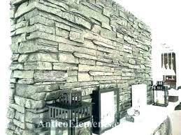 faux rock fireplace panels for with stone over brick pa faux stone fireplace rock