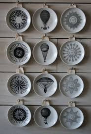 on decorative plates wall art with decorative vintage inspired wall plates