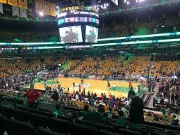 Td Garden Section Club 137 Row E Seat 6 Boston Celtics