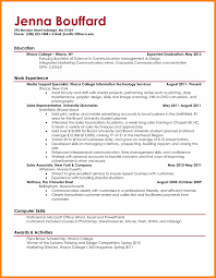 7 College Student Resume Tips Report Examples