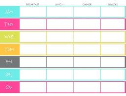 Bi Weekly Meal Planner Template 7 Best Images Of Bi Weekly Dinner Menu Planner Free Printable Meal