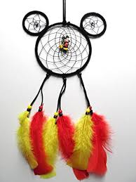 Mickey Mouse Dream Catcher Mesmerizing Amazon Disney Mickey Mouse Dream Catcher Handmade