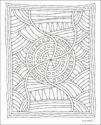 Small Picture Mosaic Coloring Page Doodles Coloring Pages Pinterest