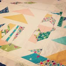 The Oh-So-Epic Mid Century Mod Quilt | Project: Leasa & The most tedious areas of the mid century modern quilt are pieced! Yay! # Adamdwight.com