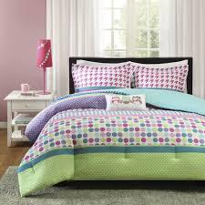 beautiful pink purple green blue aqua teal polka dot owl
