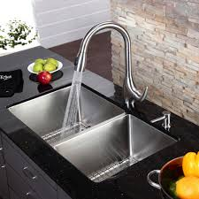 Best Kitchen Sinks And Faucets Brown Kitchen Faucet With Sprayer Kitchen Artfultherapynet