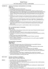 Product Engineer Resume Senior Product Engineer Resume Samples Velvet Jobs 11