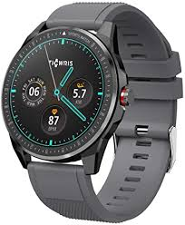 <b>TICWRIS RS Smart</b> Watch for Android iOS, Ultra Thin 9mm: Amazon ...