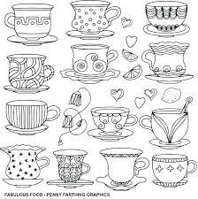 Printable Coffee Cup Coloring Page Pages At Free Haljinezamaturu