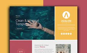 Avalon Full Width One Page Free Html5 Bootstrap Event Website Template