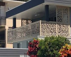 Give your balcony a facelift. Powdercoated, durable 3mm thick Aluminium  privacy screens by Screen