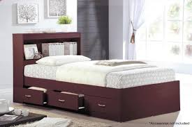 Amazon.com: Hodedah HIBT60 Mahogany Beds, Twin: Kitchen & Dining
