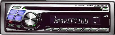 alpine cde 9843 cd mp3 receiver at crutchfield com