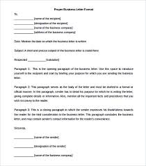 Formatting Business Letter Proper Business Letter Format Template Download Without Name