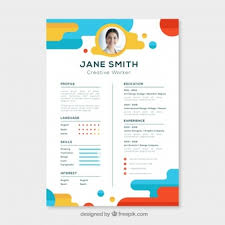 Res Ume Cv Template Vectors Photos And Psd Files Free Download