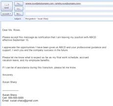 Collection of Solutions How To Write Resignation Letter Email With Sample Proposal