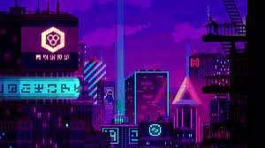 Night City 8-Bit Live Wallpaper ...