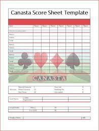 Canasta Score Sheet Template Fascinating Hand And Foot Card Game Score Sheet Heartimpulsarco