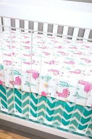 baby girl nursery bedding llama crib tribal cactus pink turquoise purple c mint blanket gift and