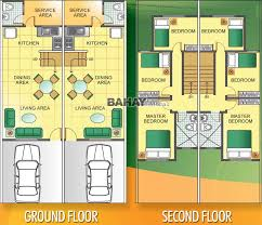 summerfield residences quality townhouse eusebio st for townhouse floor plan philippines