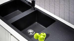 Kitchen  Out Door Kitchen Sink Oak Wooden Cabinets Black Modular Kitchen Sink