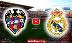 مشاهدة مباراة ريال مدريد وليفانتي بث مباشر اليوم في الدوري الإسباني بتاريخ  2021-08-22 - Yalla Live