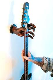 off the wall guitar hanger guitar hanger wall mounted decor hand made in receive off wall off the wall guitar