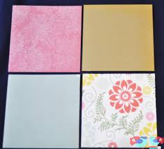Mod Podge Kitchen Table How To Make Coasters With Scrapbook Paper And Mod Podge The Love