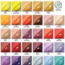 Amaco Velvet Underglaze Colours Potclays Studio