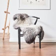 icelandic shorn sheepskin rug dark edges