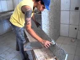 Argamassa de cimento e areia, polimento manual,. Assentando Pedra De Granito Youtube