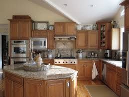 Small Kitchen Ceiling Cozy Traditional Kitchen Decorating Design With Wooden Cabinets