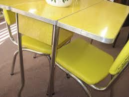 Retro Metal Kitchen Table Vintage Kitchen Table And 4 Amazing Metal Kitchen Table Home