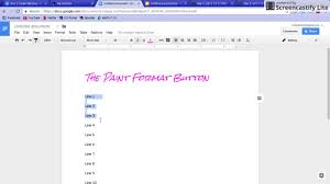Google Doc Format How To Use The Paint Format Button In Google Docs Google Slides