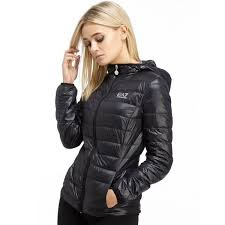 2017 emporio armani ea7 core jacket black for women reliable quality atlanta recognized brands atlanta official usa stockists reasonable
