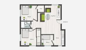 Apartments Floor Plans Design Simple Decoration