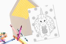 Blue mountain makes it easy to send personalized birthday cards online with blue mountain makes it a snap to personalize a birthday card for him or her. Printable Unicorn Birthday Card Design Eat Repeat