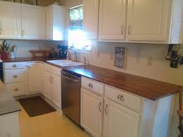 Diy Kitchen Countertops On Bliss Street Diy Wood Countertops For Under 200 Part 3 On